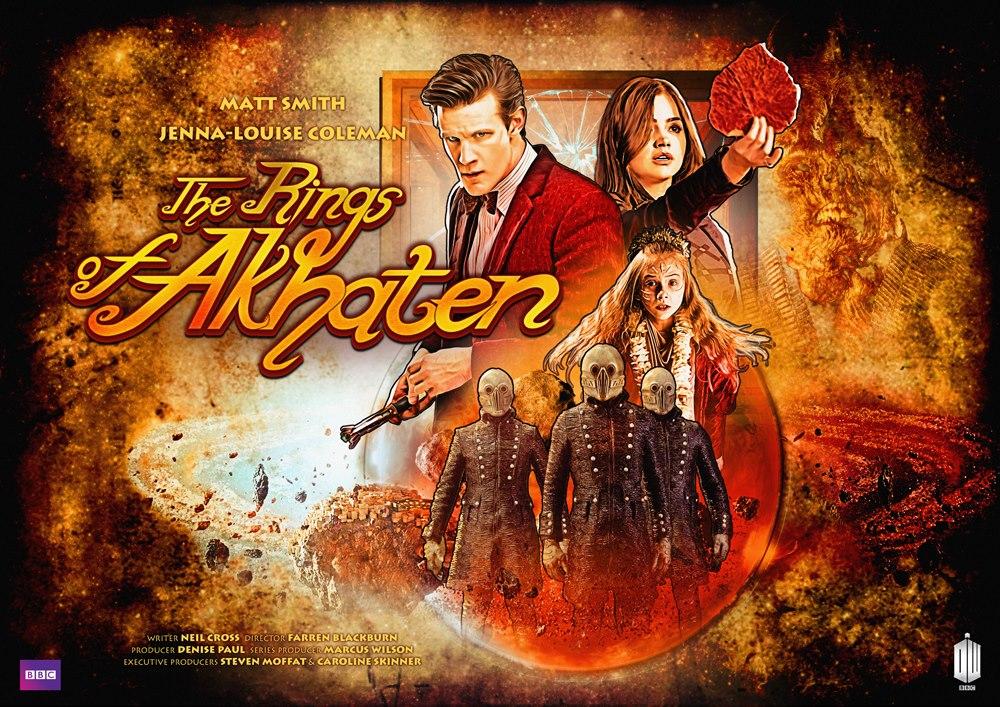 Doctor Who The Rings of Akhenaten
