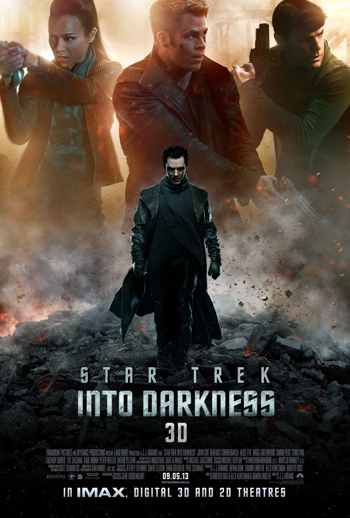 Star Trek Into Darkness New Poster