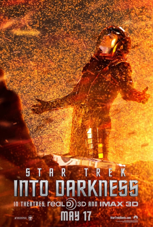 Star Trek Into Darkness Spock Poster