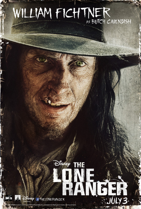The Lone Ranger Butch Cavendish