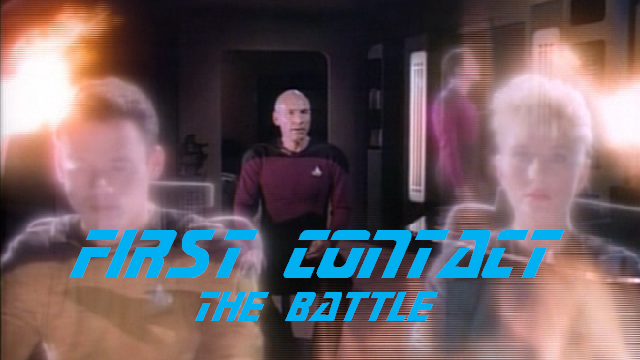 First Contact The Battle