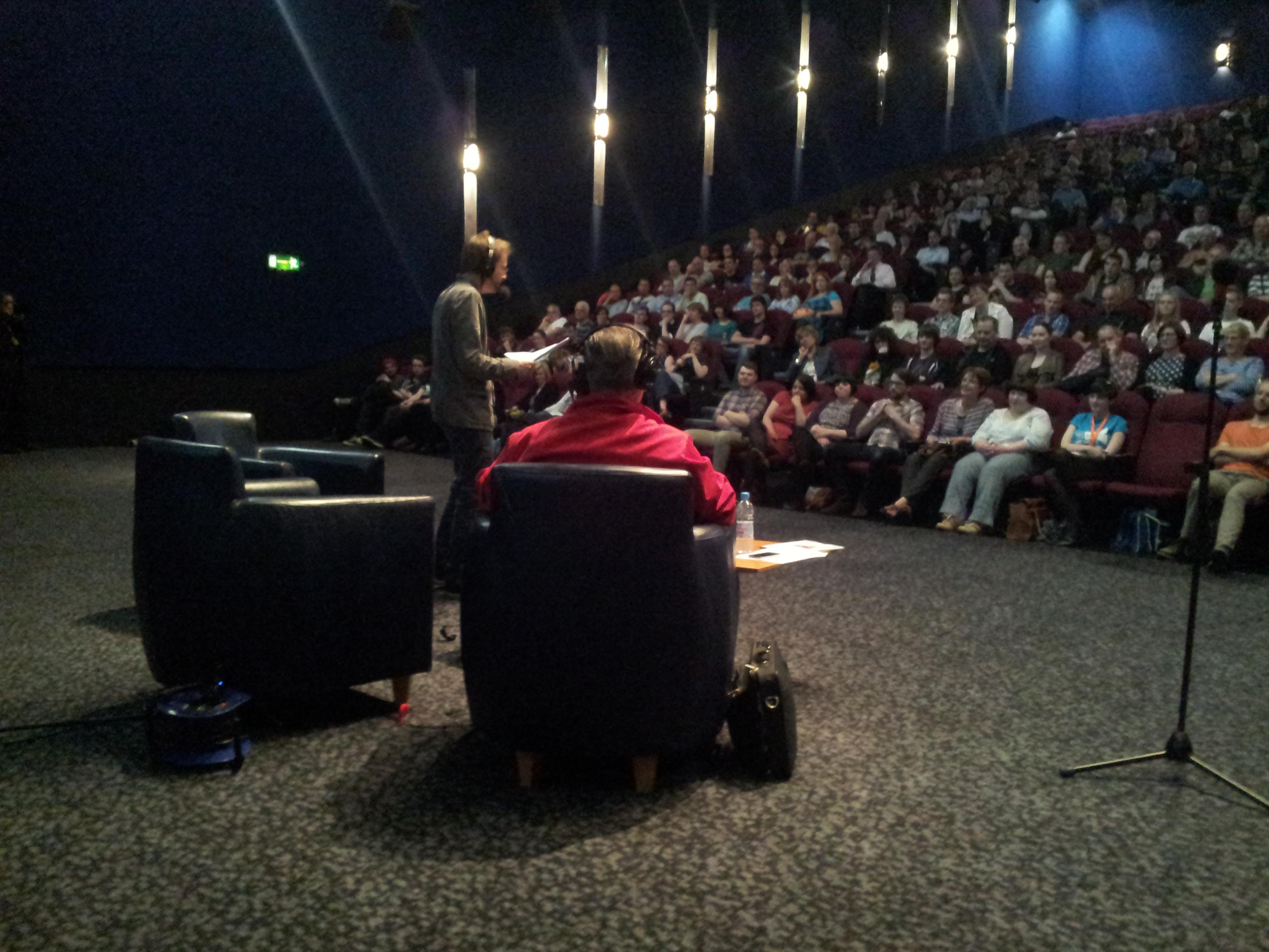 Mark Kermode and Simon Mayo in Edinburgh