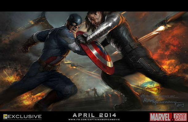 Captain America The Winter Soldier Comic Con