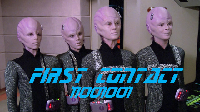 First Contact - 11001001