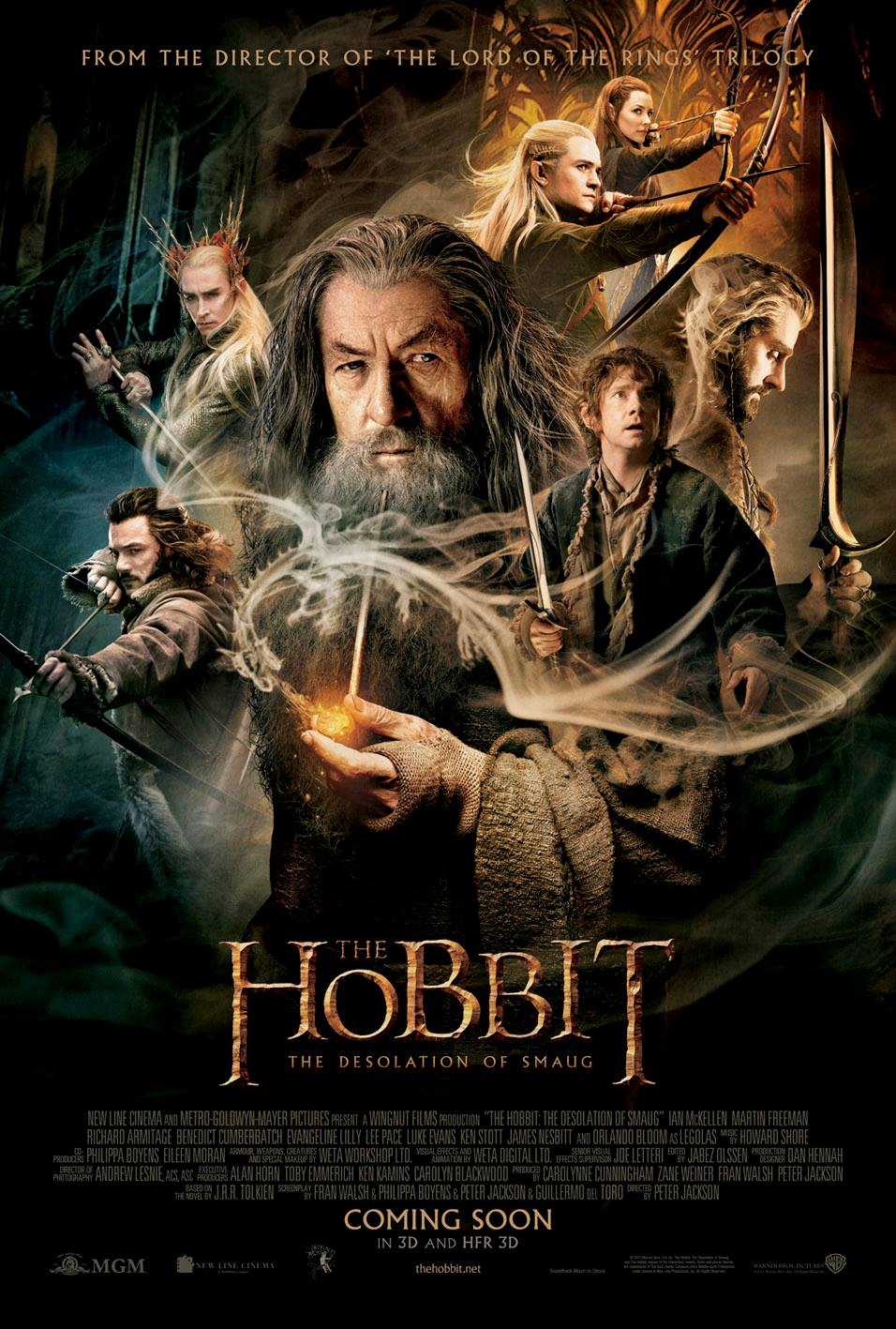 The Hobbit The Desolation of Smaug New poster