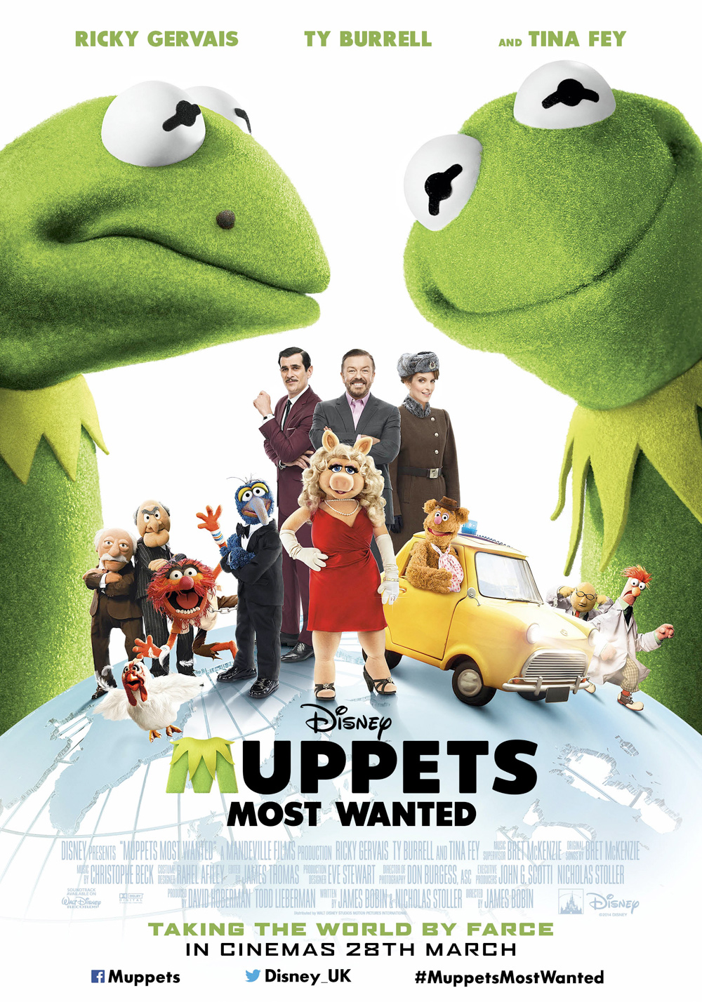 The new Muppets Most Wanted poster is quite green - The ...