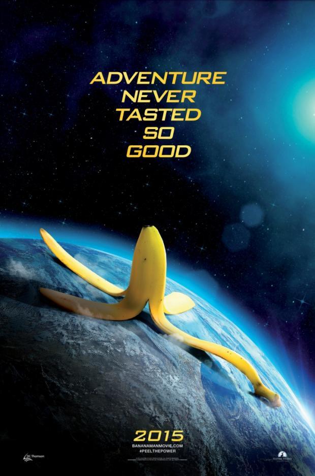 bananaman poster