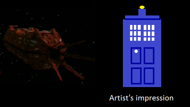 Red Dwarf VIII and Doctor Who CGI
