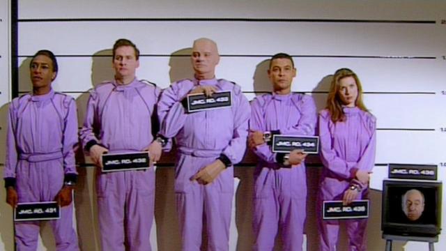 Red Dwarf VIII prison