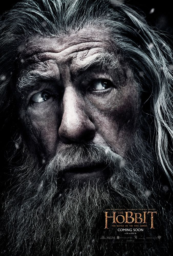 Hobbit Battle of Five Armies Gandalf