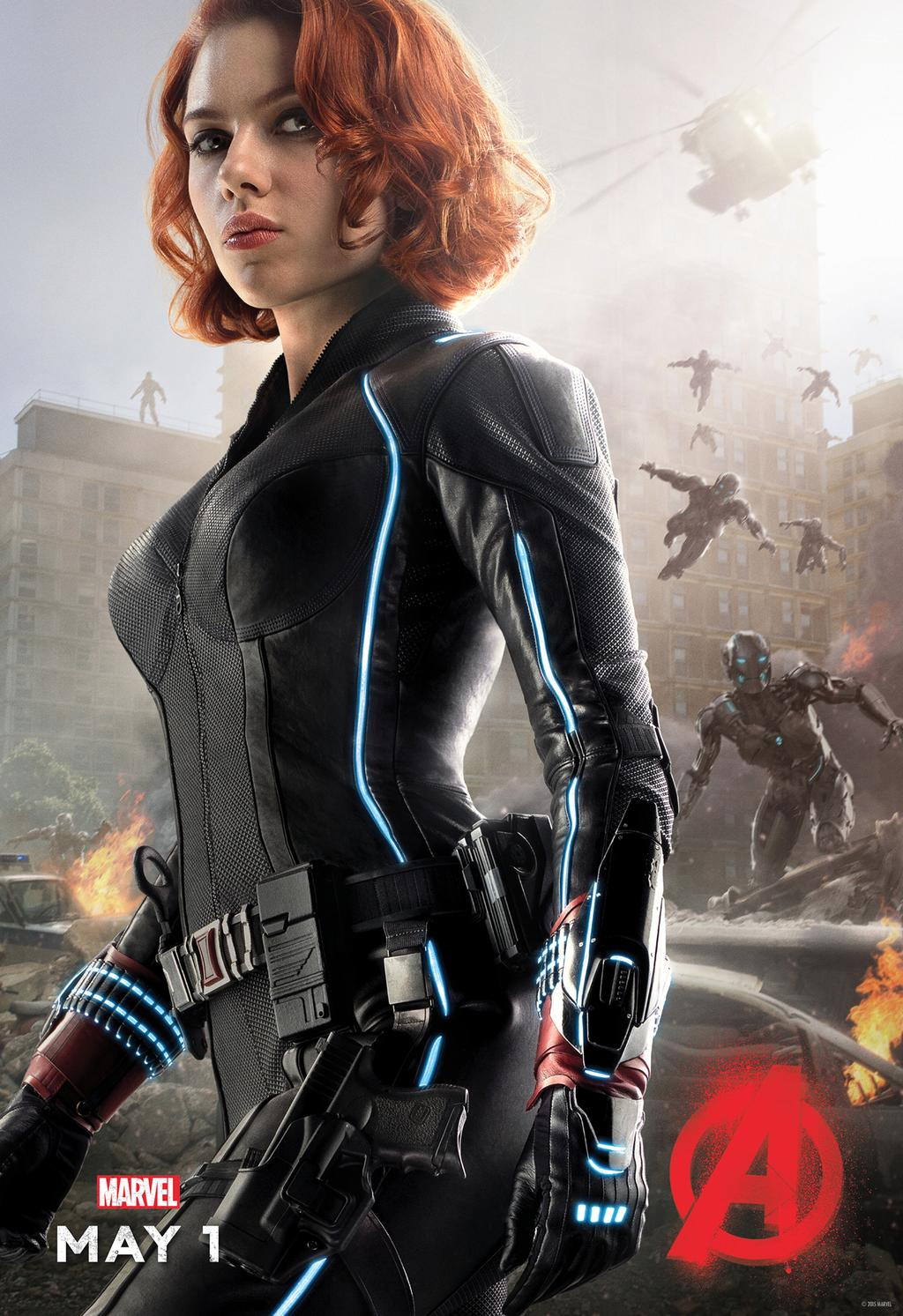 Age of Ultron Black Widow poster