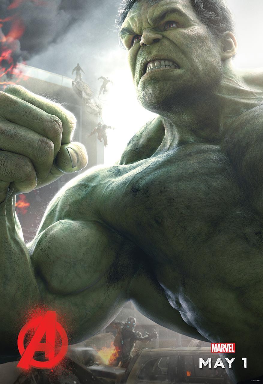 Age of Ultron Hulk poster