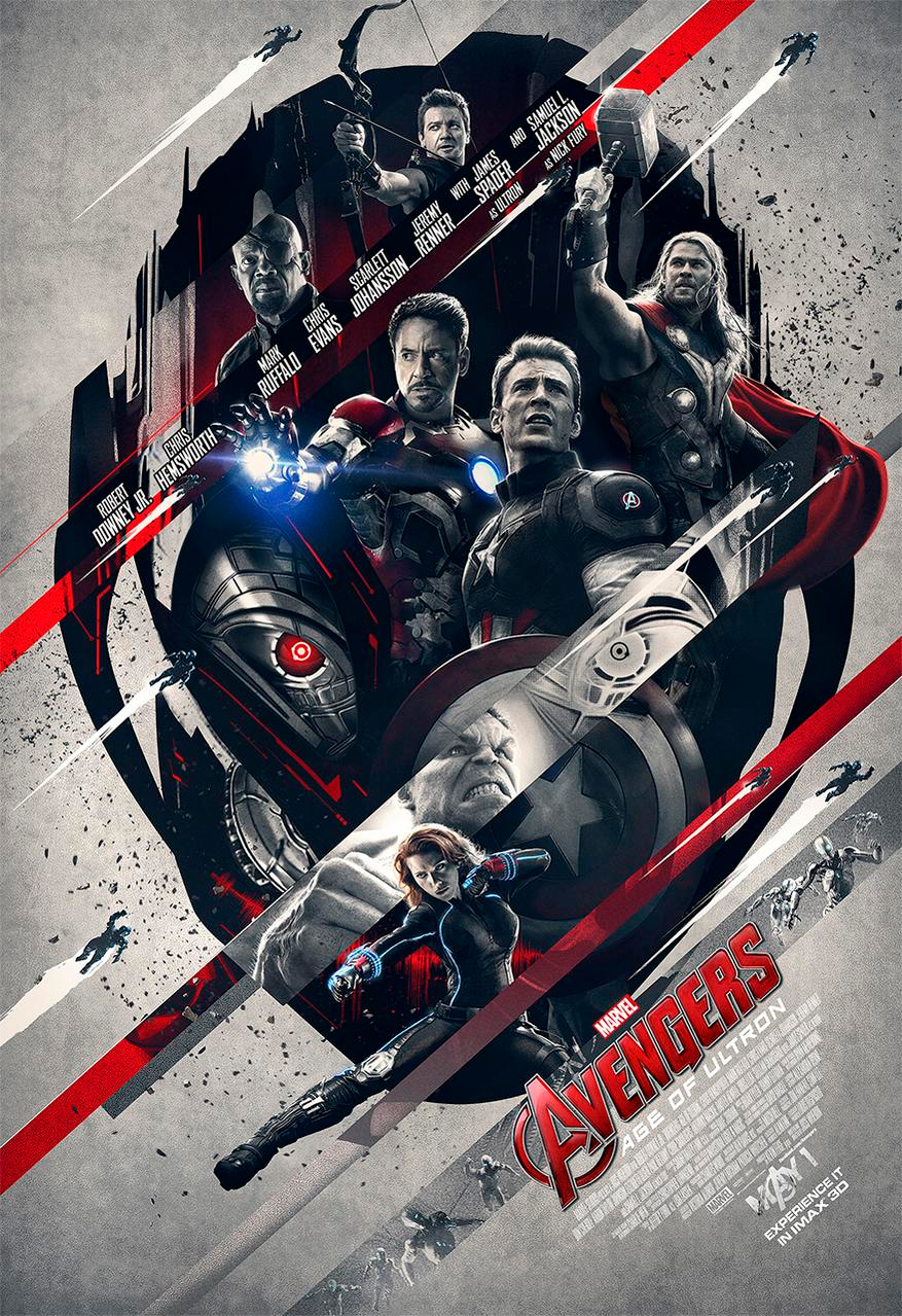 Avengers Age of ULTRON IMAX poster 2