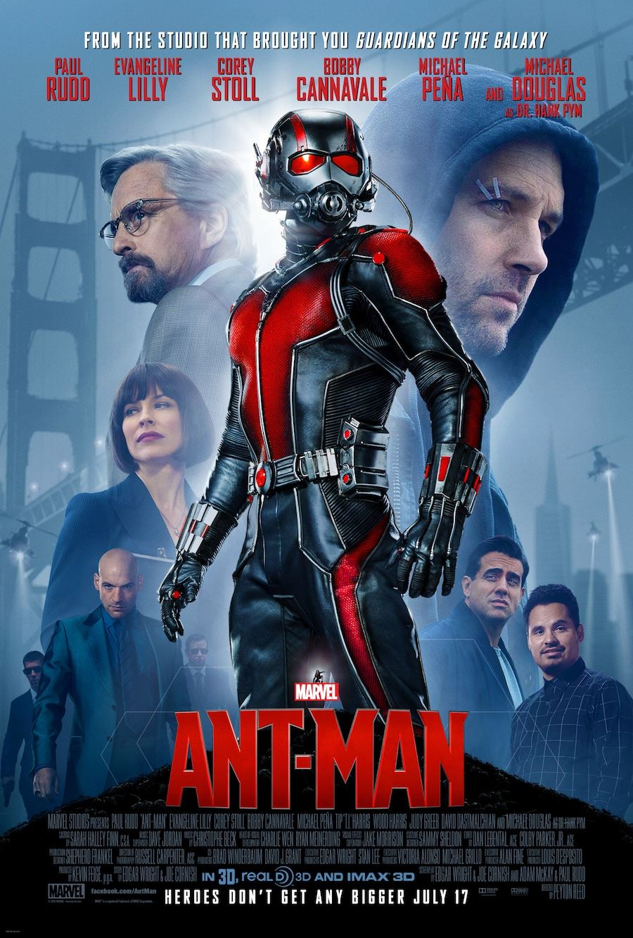 Ant-Man Cast poster