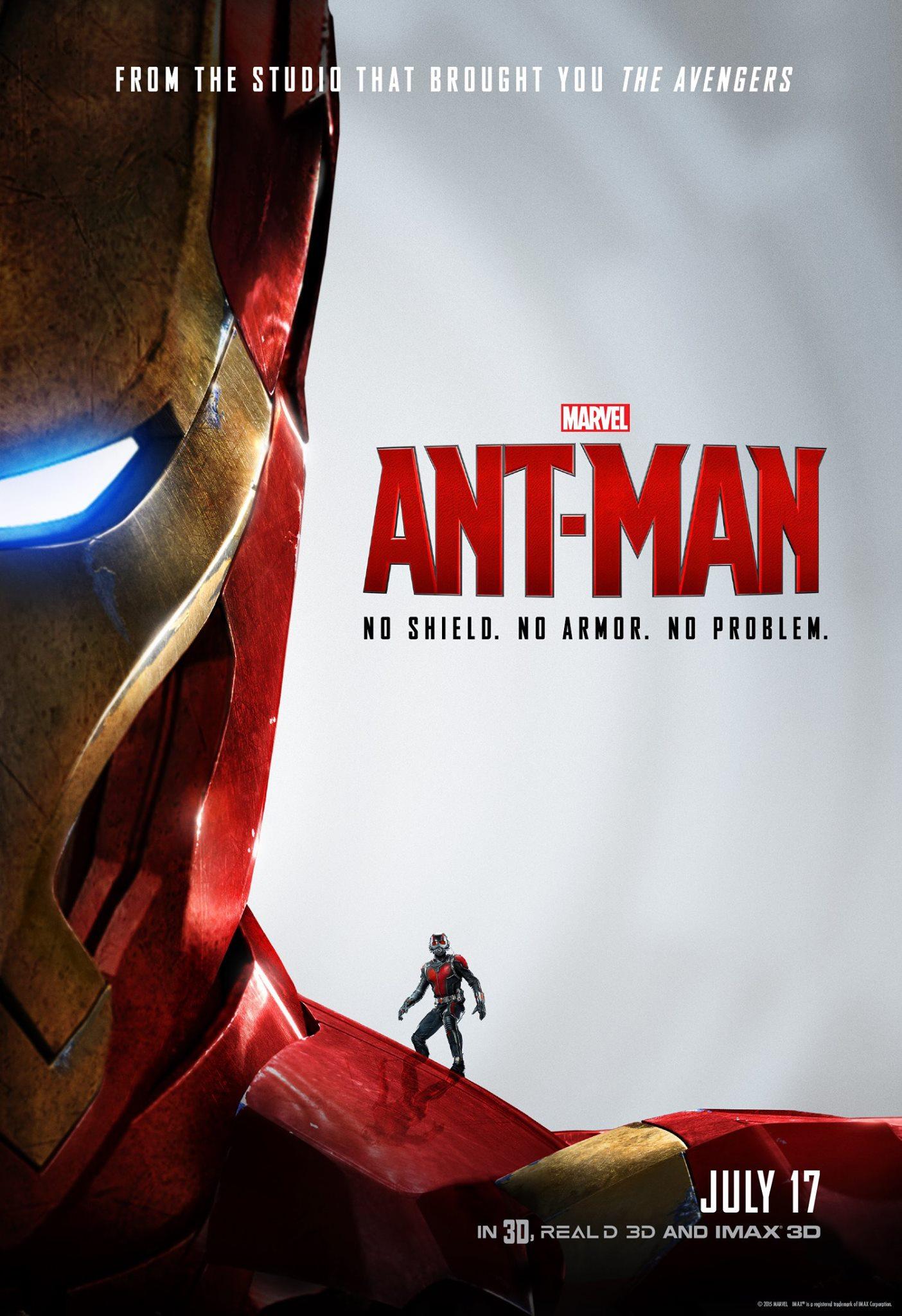 Ant-Man Iron Man poster
