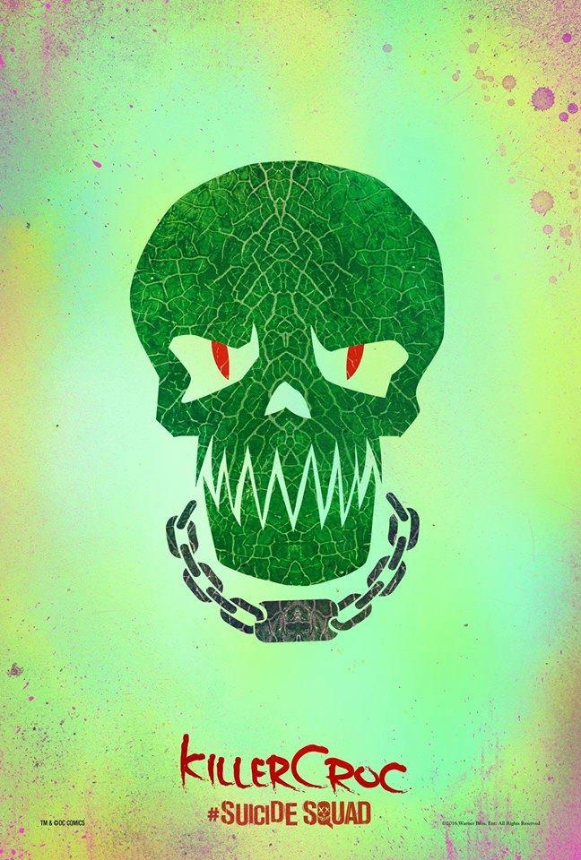 Suicide Squad Killer Croc poster