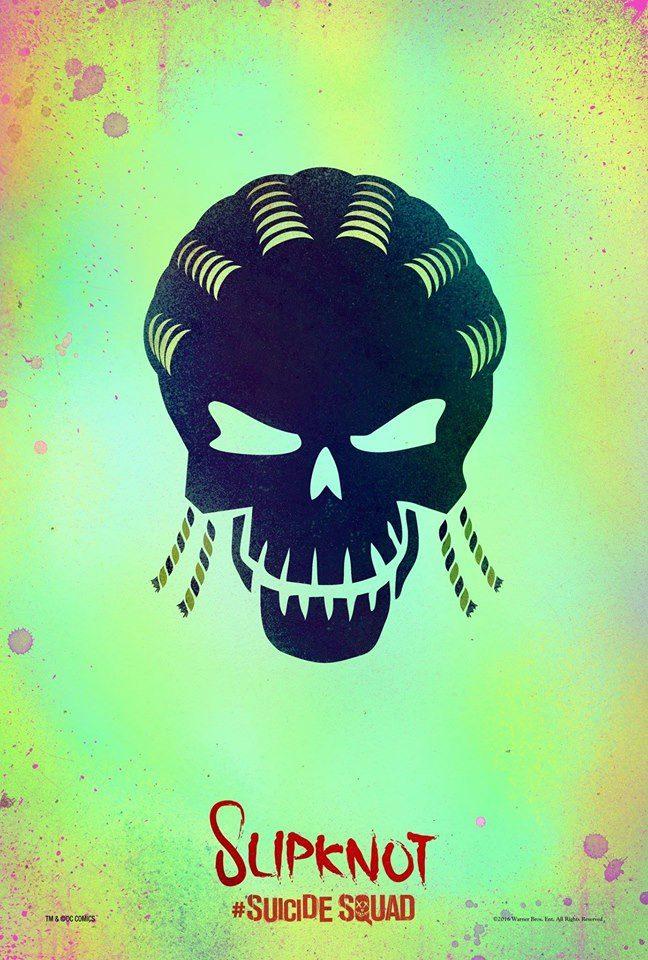 Suicide Squad Slipknot poster