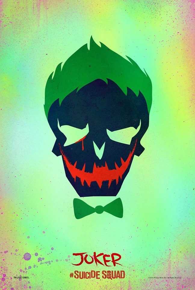 Suicide Squad The Joker poster