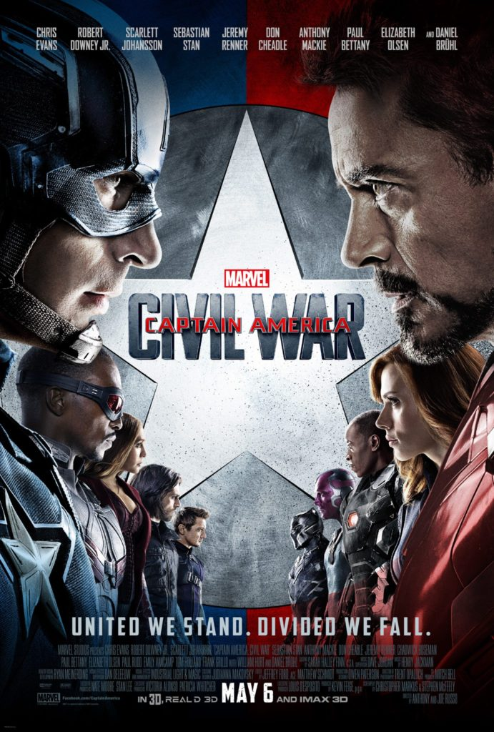 Captain America Civil War Ensemble
