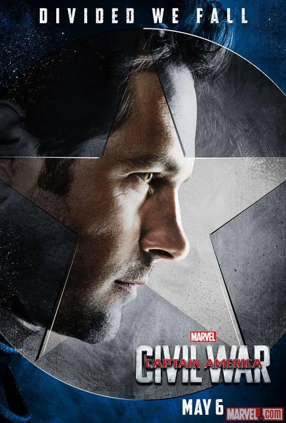 Team Cap Ant-Man