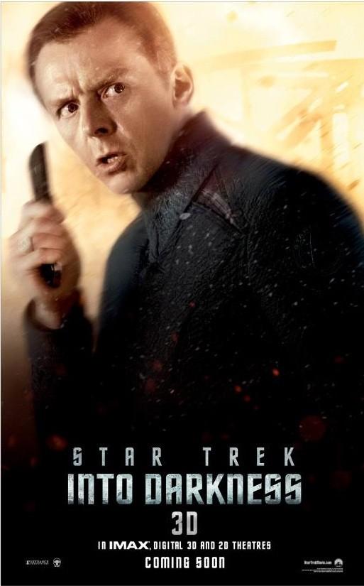 Star Trek Into Darkness Scotty Poster 2