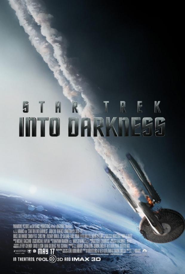 Star Trek Into Darkness Ship Poster