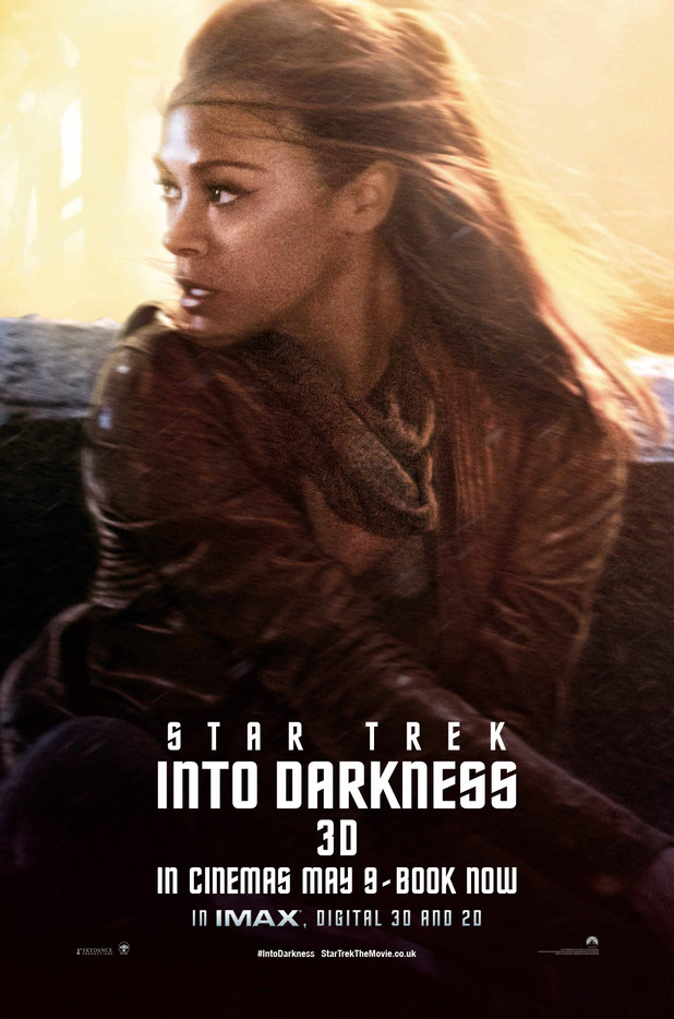 Star Trek Into Darkness Uhura Poster 2