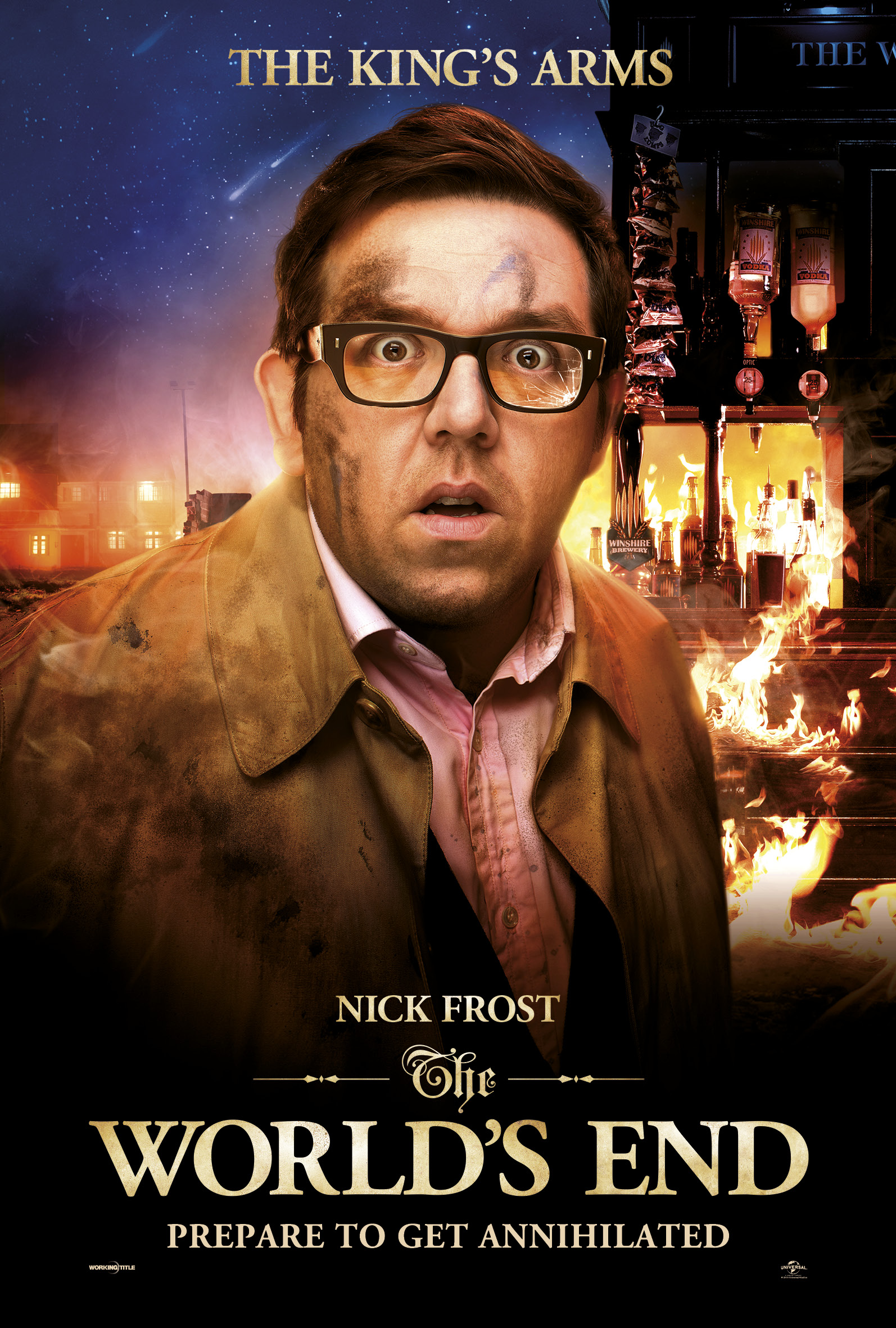 Nick Frost The World's End