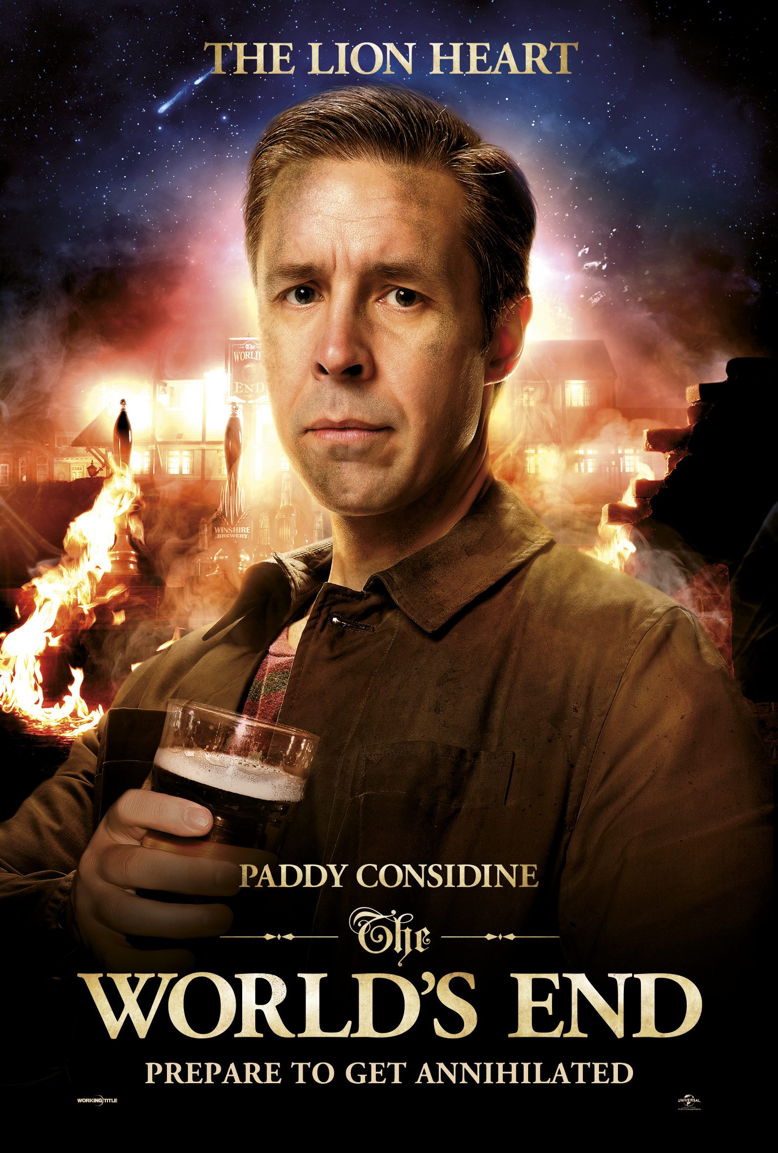 Paddy Considine The World's End