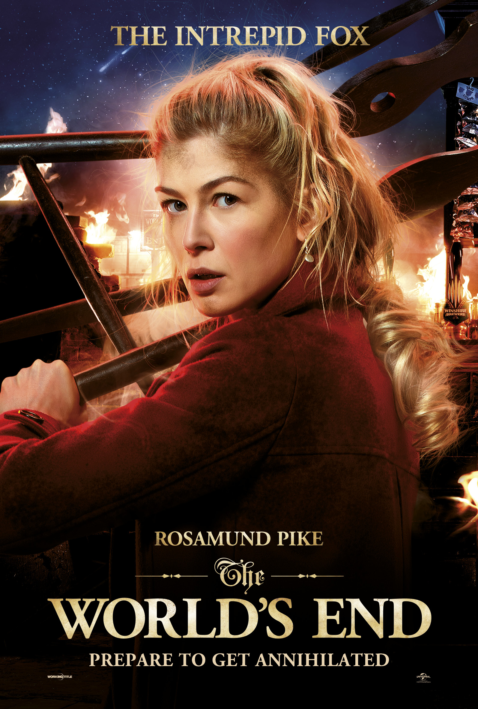 Rosamund Pike The World's End