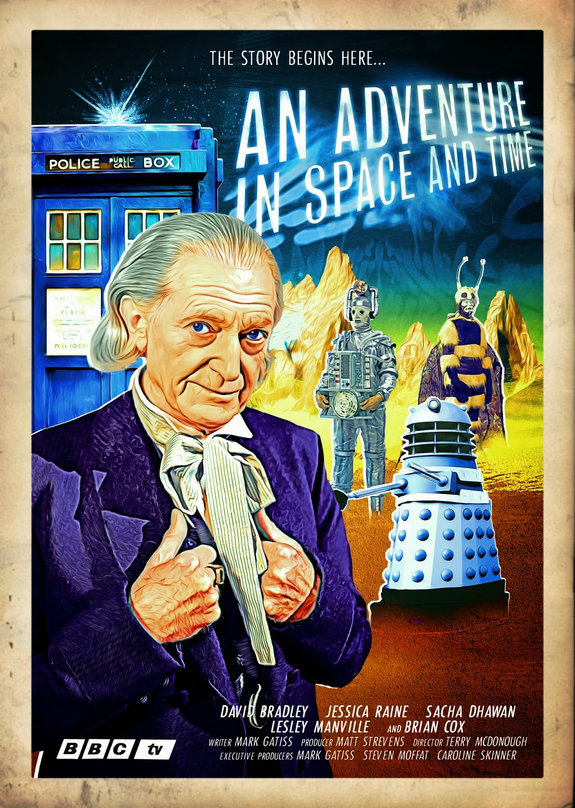 An Adventure in Space and Time poster 2