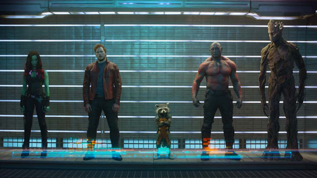 Guardians of the Galaxy lineup featured