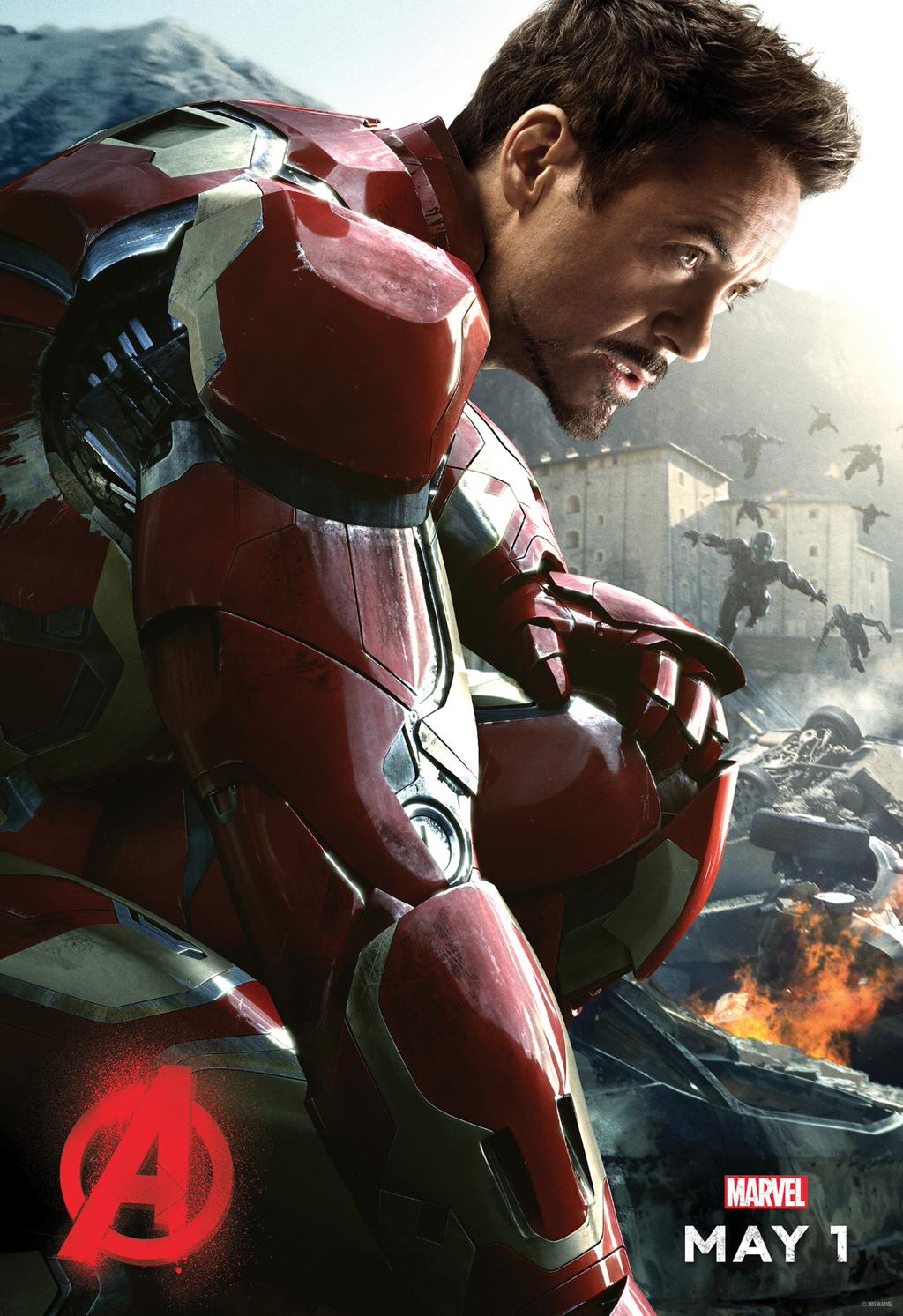 Age of Ultron Iron Man poster