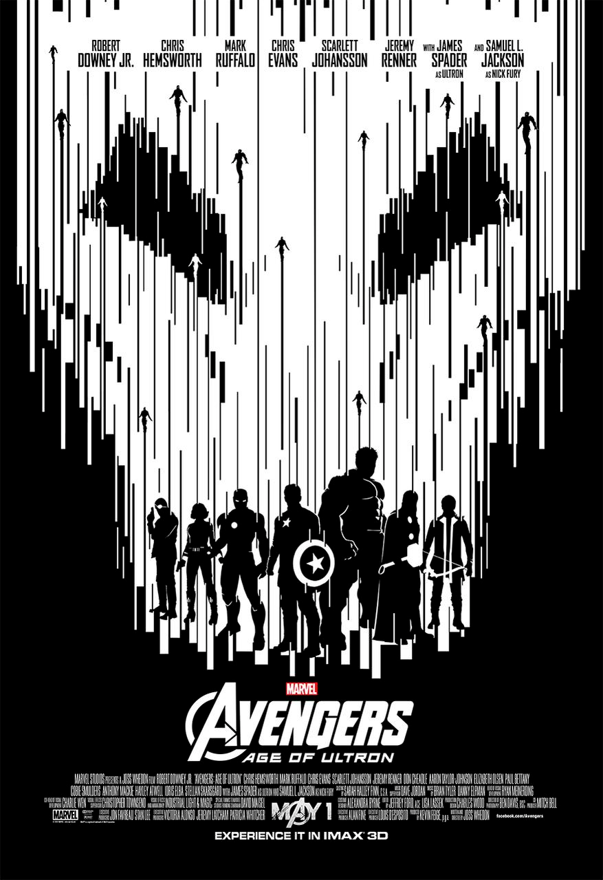 Avengers Age of ULTRON IMAX poster 4