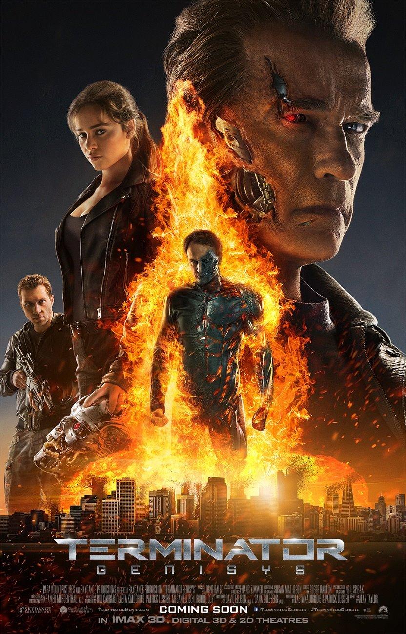 Terminator Genisys Cast poster