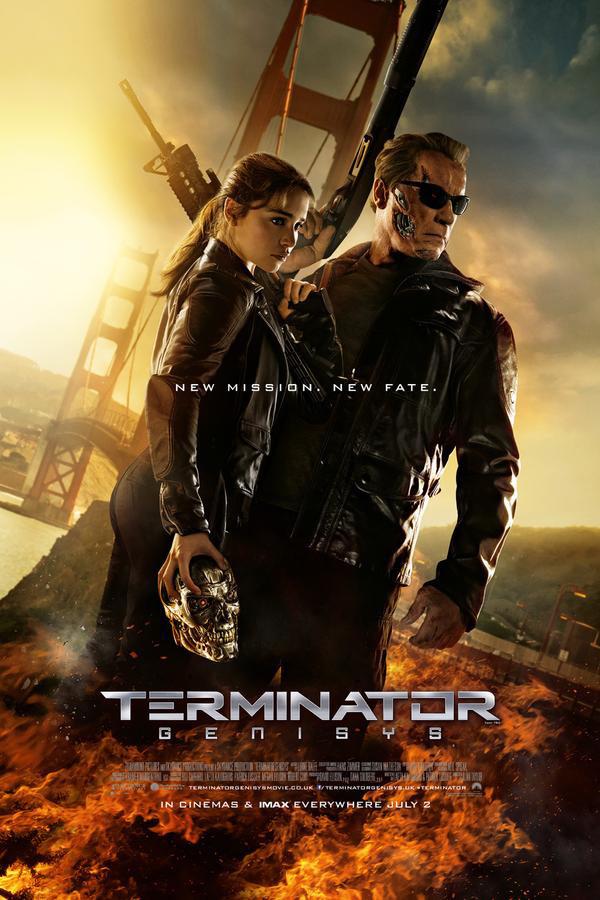 Terminator Genisys international poster