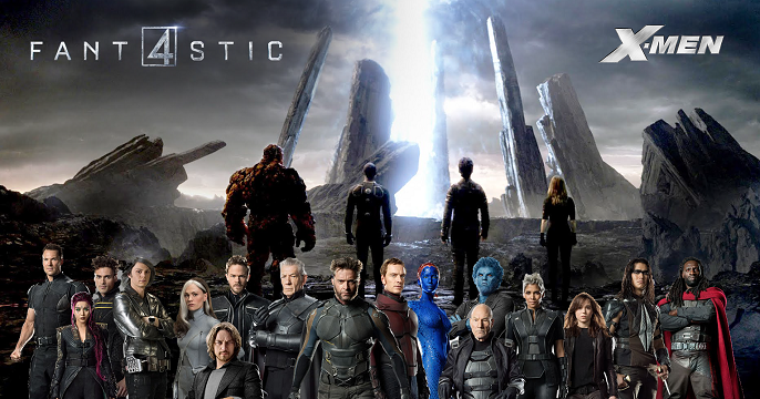 Fantastic Four X Men banner featured