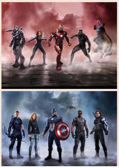 civil war teams