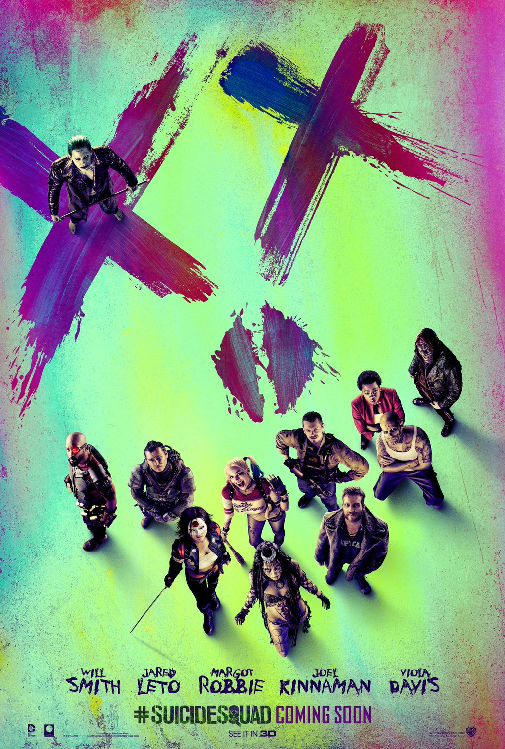 Suicide Squad Group poster